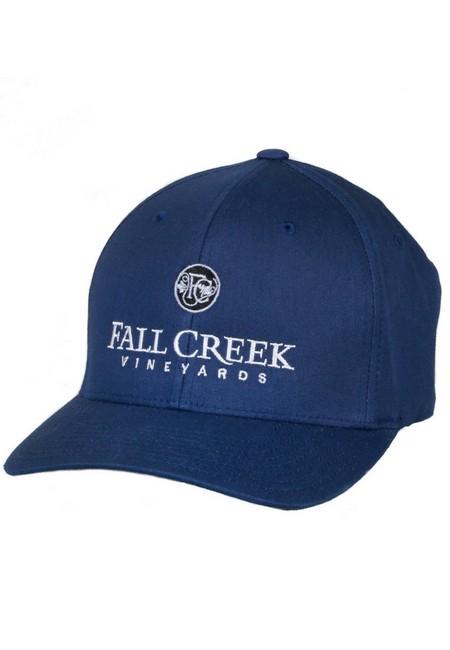 Fall Creek <br>FlexFit Navy Baseball Hat <br>-L/XL