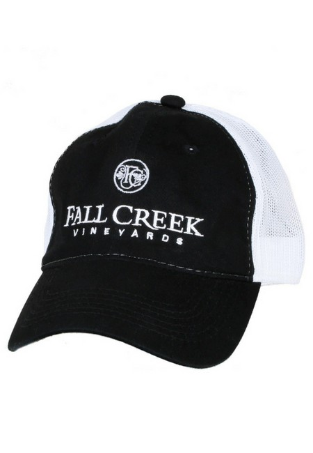 Fall Creek <br>Mesh Baseball Hat -Black
