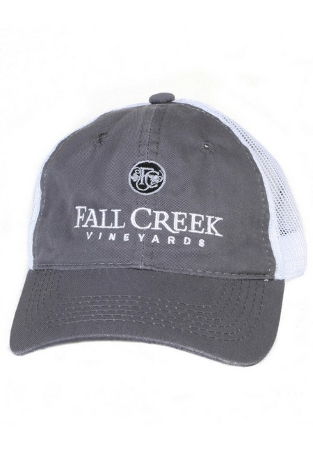 Fall Creek <br>Mesh Baseball Hat -Grey