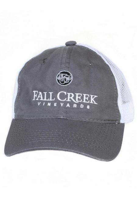 Fall Creek <br>Mesh Baseball Hat -Grey
