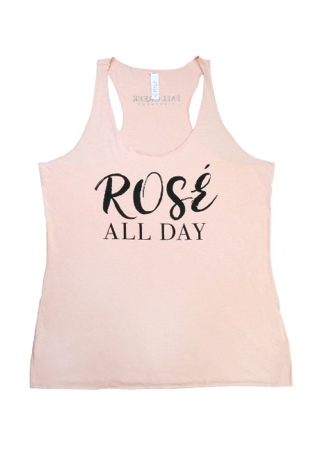 Rose' All Day Tank Top <br>-Large