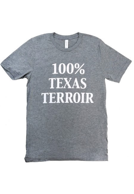 100% TX Terroir T-shirt - XLarge