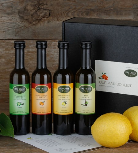 NEW! 4 Bottle Our Main Squeeze Gift Set