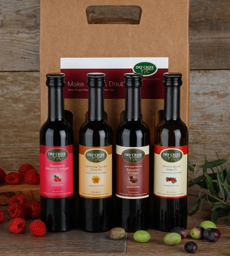 NEW! 4 Bottle Make Mine a Double Gift Sampler