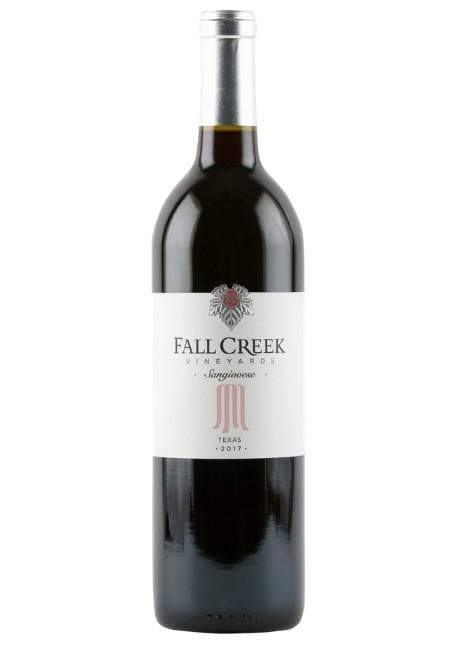 Fall Creek Vineyards Sangiovese Vintner's Selection Texas 2017