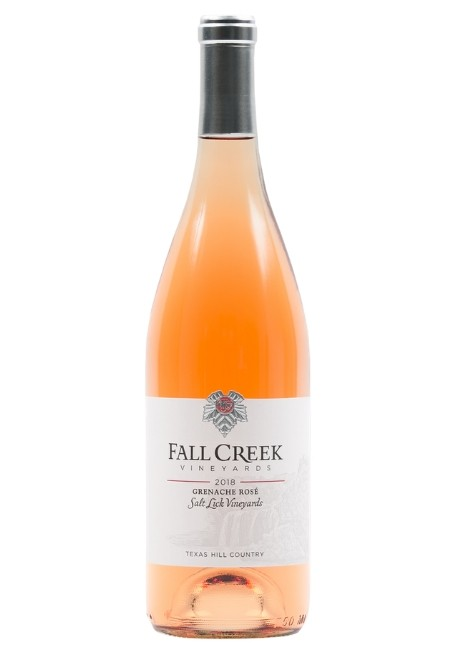 Fall Creek Vineyards <br>Grenache Rosé Salt Lick Vineyards 2018