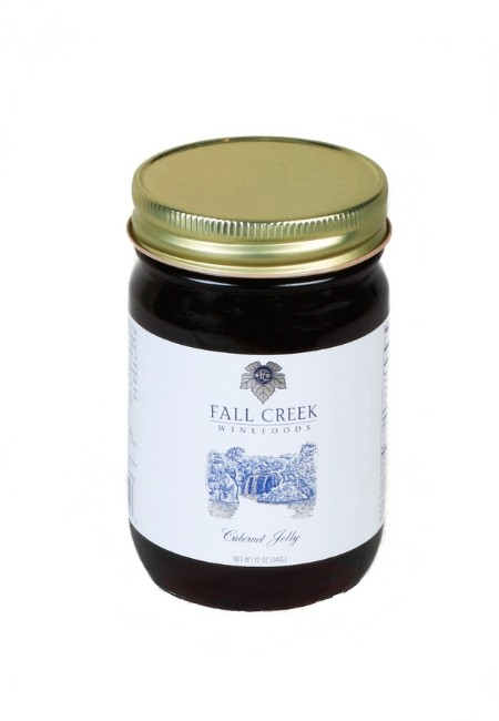 Cabernet Jelly <br> Fall Creek Wine Foods