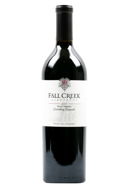 Fall Creek Vineyards Petit Verdot Certenberg Vineyards Terroir Reflection Texas Hill Country 2017