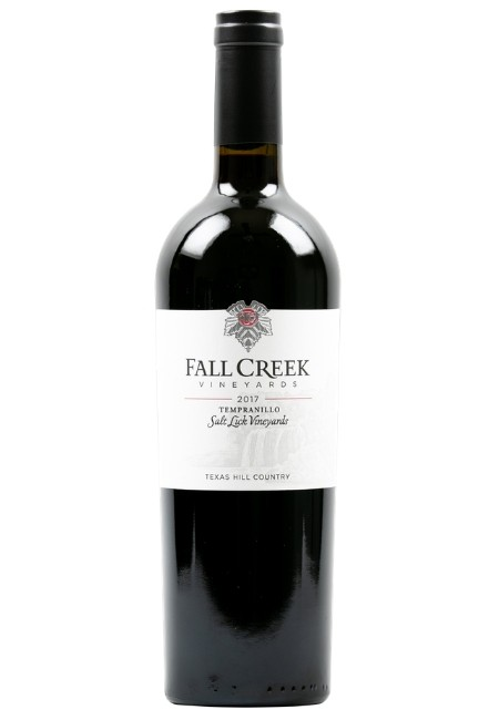 Fall Creek Vineyards Tempranillo Salt Lick Vineyards Terroir Reflection Texas Hill Country 2017