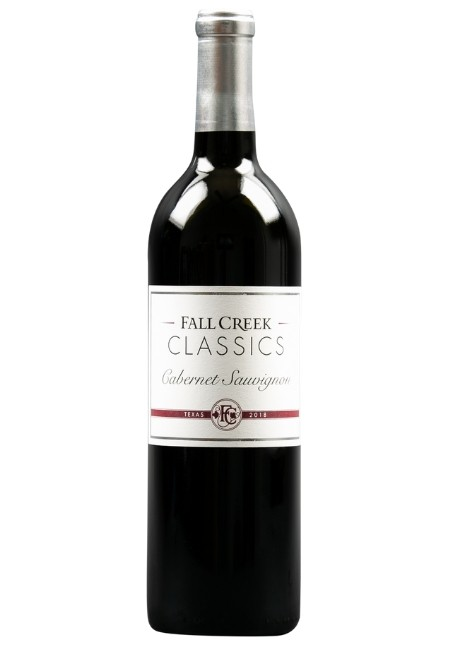 Fall Creek Vineyards Cabernet Sauvignon CLASSICS Texas 2018