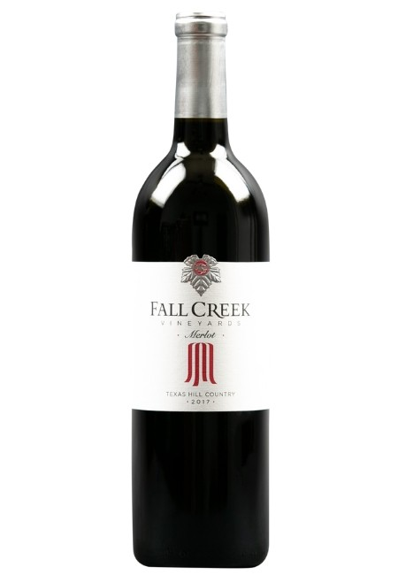 Fall Creek Vineyards Merlot Vintner's Selection Texas Hill Country 2017