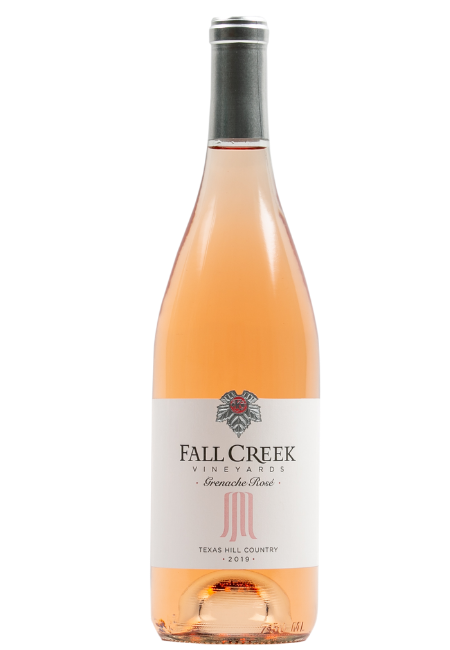 Fall Creek Vineyards Vintner's Selection Grenache Rosé Salt Lick Vineyards Texas Hill Country 2019