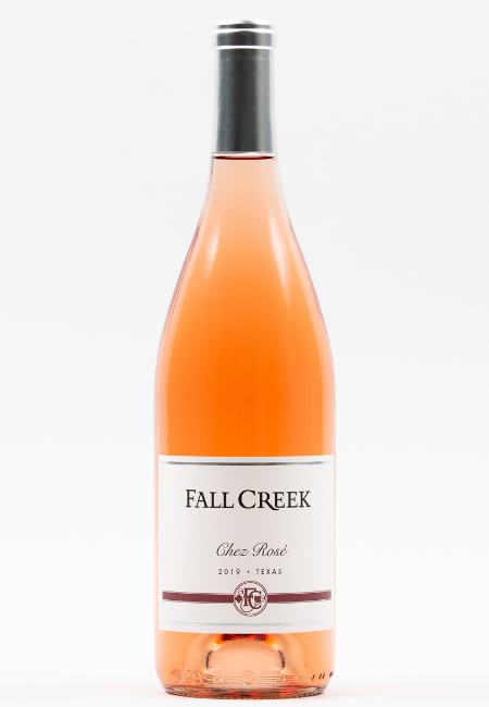 Fall Creek Vineyards Chez Rose 2019 Texas Rose Wine