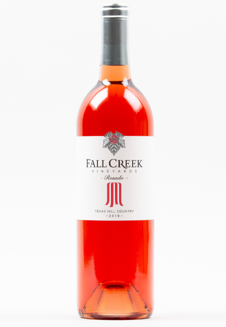 Fall Creek Vineyards Rosado Vintner's Selection Texas Hill Country 2019