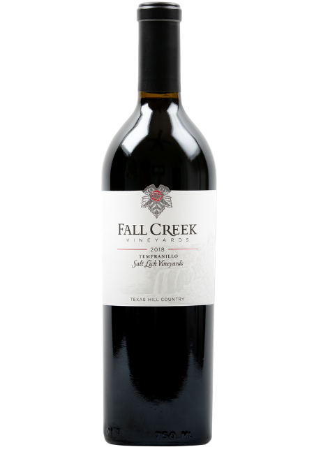 Fall Creek Vineyards Tempranillo Salt Lick Vineyards Terroir Reflection Texas Hill Country 2018