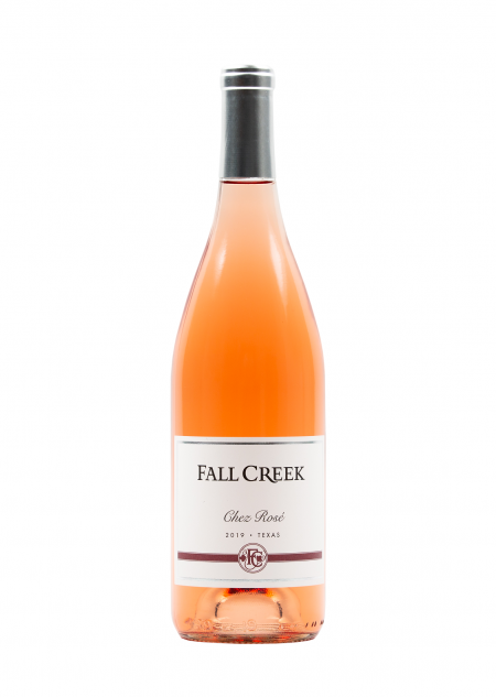 Fall Creek Vineyards Chez Rosé Texas 2019