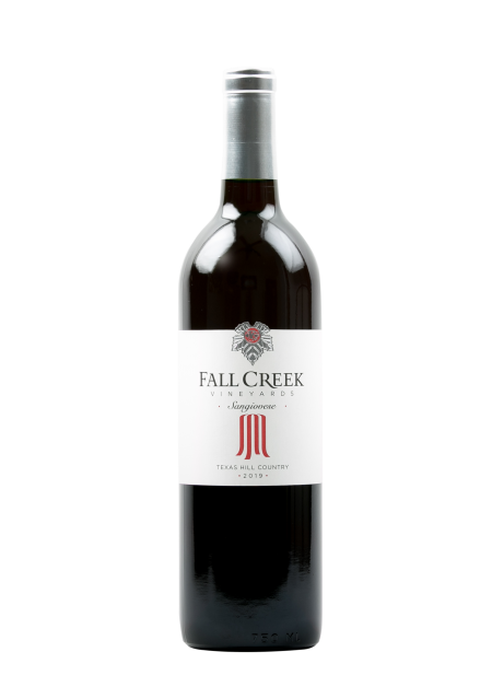 Fall Creek Vineyards Sangiovese Vintner's Selection Texas Hill Country 2019