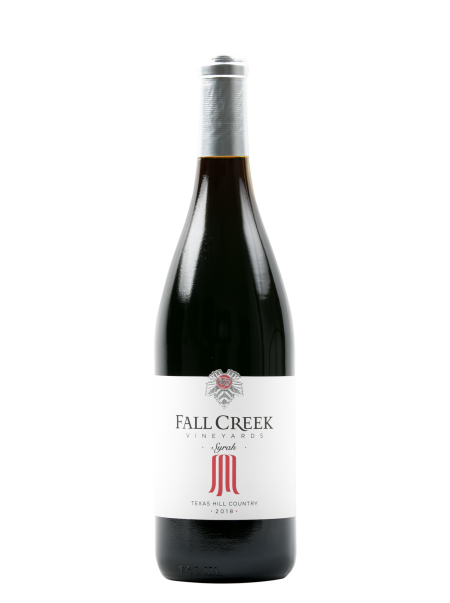Fall Creek Vineyards Syrah, Salt Lick Vineyards THC, Vintner's Selection 2018