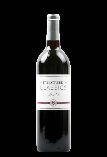 Fall Creek Vineyards Merlot CLASSICS Texas 2019
