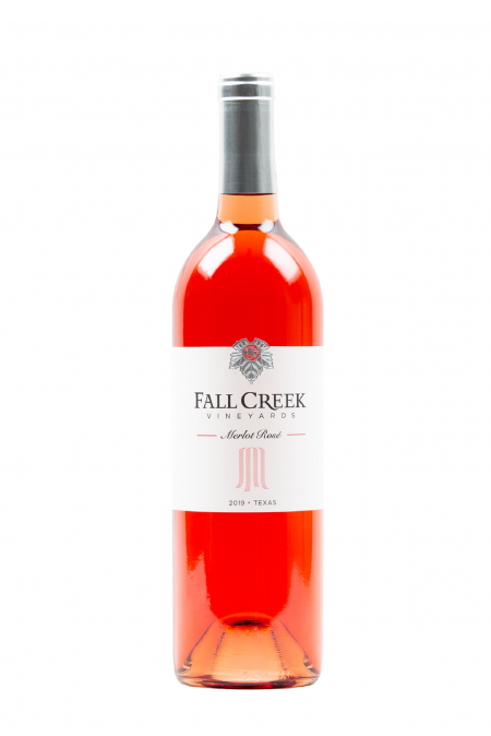 Fall Creek Vineyards Merlot Rosé Vintner's Selection Texas 2019